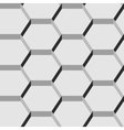Seamless pattern of hexagons vector image vector image