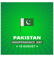14th august pakistan independence day abstract