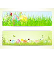 Easter banners 2013 vector image vector image