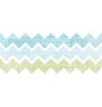 fabric textured chevron stripes horizontal vector image vector image