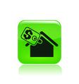 real estate icon vector image vector image