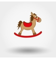 Rocking horse vector image vector image