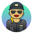 woman security vector image
