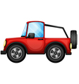 A red car vector | Price: 1 Credit (USD $1)