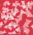 abstract triangle background 3d triangles modern vector image vector image