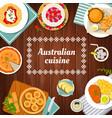 australian food cuisine menu dishes and meals