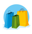 fashion sale bags to special price vector image vector image