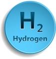 Hydrogen vector image