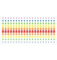 money bag shape halftone spectral effect vector image