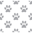 New Paw seamless pattern vector image vector image