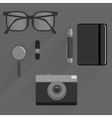 Pack for business journalist and web themes vector image vector image