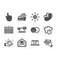 Set business icons such as cooking timer