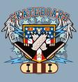 SkateBoard crossfeet