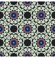 Abstract seamless ornamental pattern for fabric vector image