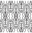 abstract monochrome seamless pattern vector image vector image