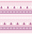 decorative seamless background christmas handmade vector image vector image