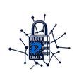 digibyte blockchain logo graphic dgb digital vector image vector image
