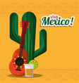 viva mexico party celebration image vector image