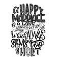 hand lettering inspiring vector image