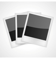 Shiny Polaroid Frames vector image