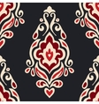 Abstract seamless damask floral l pattern vector image vector image