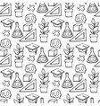 back to school seamless pattern good for vector image vector image
