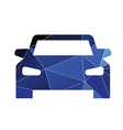 car icon Abstract Triangle vector image vector image
