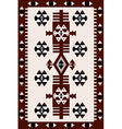 Carpet with Hungarian motifs vector image vector image