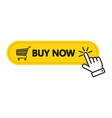 click here buy now button with a shopping cart vector image