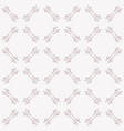 cute ornamental seamless art deco pattern vector image vector image