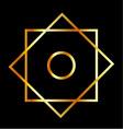 Rub el Hizb symbol vector image vector image