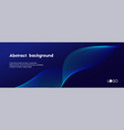 abstract dark blue minimal background long vector image