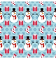 pattern ornament winter vector image