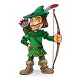 Robin Hood vector image