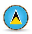Saint Lucia Seal vector image vector image