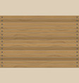 texture of wood panels horizontal wall abstract vector image vector image