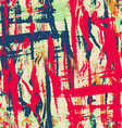 urban grunge seamless pattern with paint effect vector image