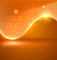 Bright Orange Design for Business vector image vector image