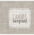 canvas background vector image vector image