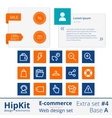 E-commerce web design elements extra set 4 vector image