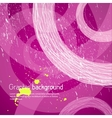Purple graphic background vector image vector image