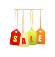 sale label set icons vector image vector image