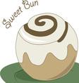 Sweet Bun vector image vector image
