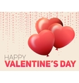 Valentines Day Flyer EPS10 vector image vector image