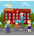 Back to School Education Concept vector image vector image