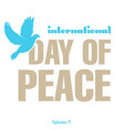 day peace vector image