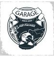 garage grinder sprey gun vector image vector image