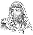 herodotus vector image