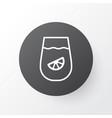 lemon juice icon symbol premium quality isolated vector image