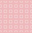 subtle pink minimalist seamless pattern vector image vector image